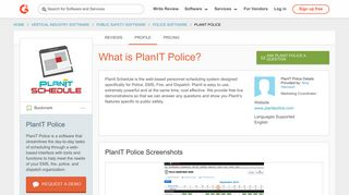 PlanIT Police | G2 Crowd