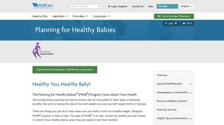 Planning for Healthy Babies | WellCare