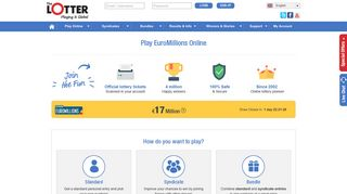 Play EuroMillions Online   Buy Official Tickets   theLotter
