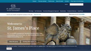 St. James's Place | Corporate website