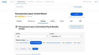 Working at Pennsylvania Liquor Control Board: Employee Reviews ...