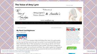 My Plenti Card Nightmare | The Voice of Amy Lynn