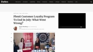 Plenti Customer Loyalty Program To End In July: What Went Wrong?