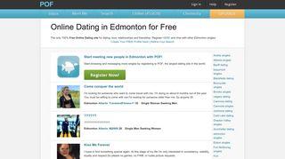 Online Dating in Edmonton for Free - POF.com
