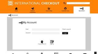 :: International Checkout :: My Account