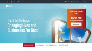 Login to Global Challenge   Employee Health and Wellbeing