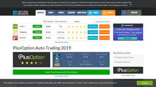 PlusOption Auto Trading | Best Binary Auto Trading Software
