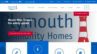 Plymouth Community Homes: Home