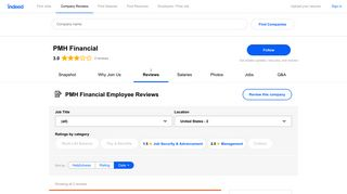 Working at PMH Financial: Employee Reviews | Indeed.com