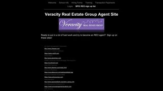 Veracity Real Estate Group Agent Site