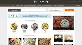 Pocket Watch Database: Pocket Watch Serial Number Lookup & Info