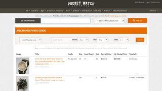 Buying Guide - Pocket Watch Database