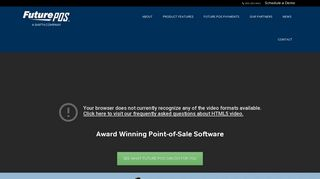 Future POS, Restaurant Point-of-Sale Software