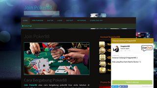 Join Poker88