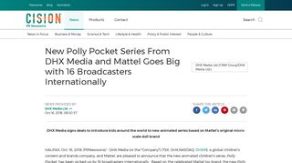 New Polly Pocket Series From DHX Media and Mattel Goes Big with ...