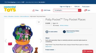 Polly Pocket™ Tiny Pocket Places - Mastermind Toys