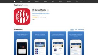 Mi Banco Mobile on the App Store - iTunes - Apple