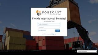 Florida International Terminal - Forecast® by Tideworks