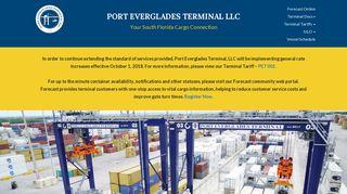 PORT EVERGLADES TERMINAL LLC