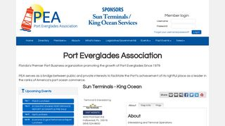 Sun Terminals - King Ocean - Port Everglades Association