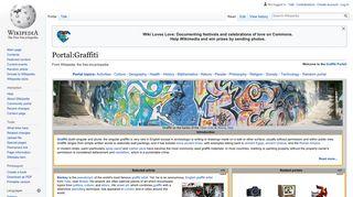 Portal:Graffiti - Wikipedia