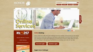 Online Banking - Honor Credit Union