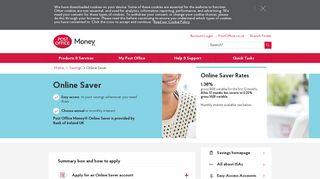 Online Saver | Post Office®