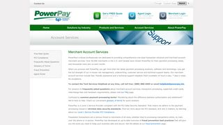 Merchant Account Merchant Services   PowerPay - PowerPay.biz