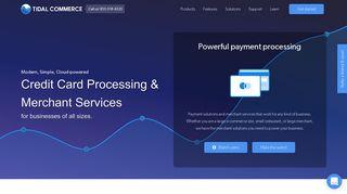 Tidal Commerce: Merchant Services & Credit Card Processing