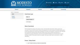 MCS4Kids - District Powerschool