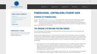 PowerSchool | Ada Christian School