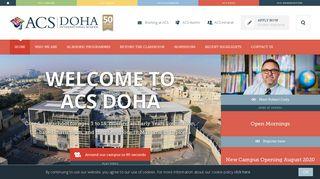 ACS Doha | International School in Qatar | ACS International Schools