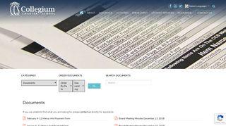 Documents - Collegium Charter School