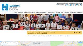 Powerschool - Hamilton County Schools