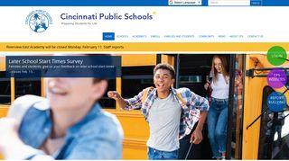 Cincinnati Public Schools |