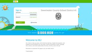 IXL - Sweetwater County School District #1