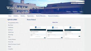 Power School - West Side Middle School - Waterbury Public Schools