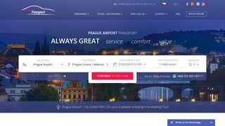 Prague Airport Transport - Prague Airport Taxi Transfer - 590CZK ...