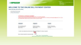 Online Bill Pay - eInvoice Service