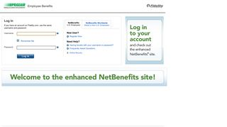 NetBenefits Login Page - Praxair - Fidelity Investments