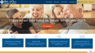 Blue Cross of Idaho: Idaho Health Insurance
