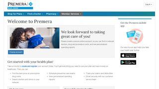 Welcome to Premera   Member   Premera Blue Cross