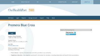 Premera Blue Cross   One Health Port