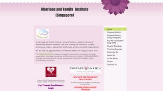Marriage and Family Institute - Home