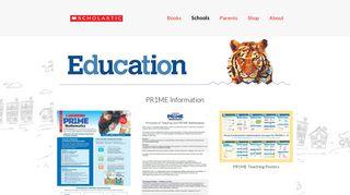 Prime Maths Information | Scholastic New Zealand