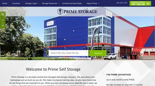Prime Storage | Self Storage Company