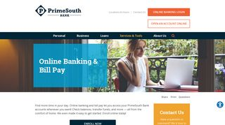 Online Banking & Bill Pay | Prime South Bank | Tallassee, AL ...