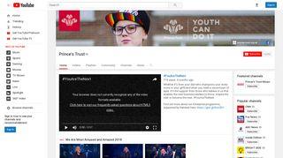 Prince's Trust - YouTube
