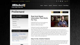 ProDemand Car Repair Estimator & Repair Information | Mitchell 1