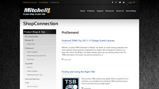 ProDemand Archives - Mitchell 1 ShopConnection